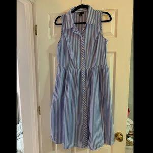 Striped preppy dress